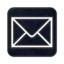 64x64px size png icon of Mail square