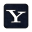 64x64px size png icon of Yahoo square
