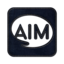 64x64px size png icon of aim square