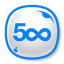 64x64px size png icon of 500px