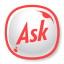 64x64px size png icon of Ask