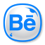 64x64px size png icon of Behance