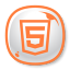 64x64px size png icon of HTML5