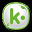 64x64px size png icon of Kik