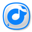 64x64px size png icon of Rdio