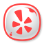 64x64px size png icon of Yelp