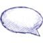 64x64px size png icon of Comments