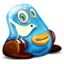 64x64px size png icon of Twitter Monster
