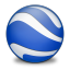 64x64px size png icon of Google Earth
