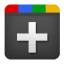 64x64px size png icon of google plus