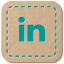 64x64px size png icon of LinkedIn