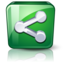 64x64px size png icon of Sharethis