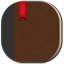 64x64px size png icon of book