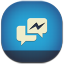 64x64px size png icon of facebook messenger