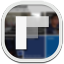 64x64px size png icon of flipboard 3