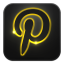 64x64px size png icon of pinterest