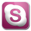 64x64px size png icon of skype