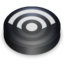 64x64px size png icon of Rss black circle