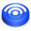 64x64px size png icon of Rss blue circle