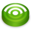 64x64px size png icon of Rss green circle
