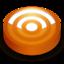 64x64px size png icon of Rss orange circle