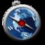 64x64px size png icon of safari blu