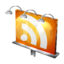 64x64px size png icon of Billboard RSS Feed