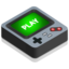 64x64px size png icon of Gameboy