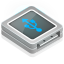 64x64px size png icon of usb