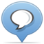 64x64px size png icon of social balloon chat