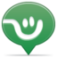 64x64px size png icon of social balloon frienster