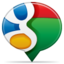 64x64px size png icon of social balloon google