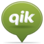 64x64px size png icon of social balloon qik
