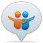 64x64px size png icon of social balloon slideshare