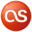 64x64px size png icon of social lastfm button red