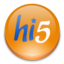 64x64px size png icon of hi 5