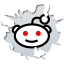 64x64px size png icon of social inside reddit