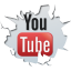 64x64px size png icon of social inside youtube