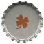 64x64px size png icon of metal clover
