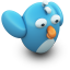 64x64px size png icon of TwittingFlying