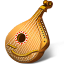 64x64px size png icon of Mandolin