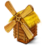 64x64px size png icon of Windmill