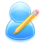 64x64px size png icon of Edit user