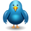 64x64px size png icon of twitter bird front