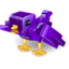 64x64px size png icon of twitter bricks purple