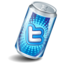 64x64px size png icon of twitter can