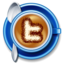 64x64px size png icon of twitter coffee