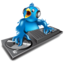 64x64px size png icon of twitter dj