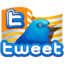 64x64px size png icon of twitter flag gold