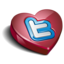 64x64px size png icon of twitter heart